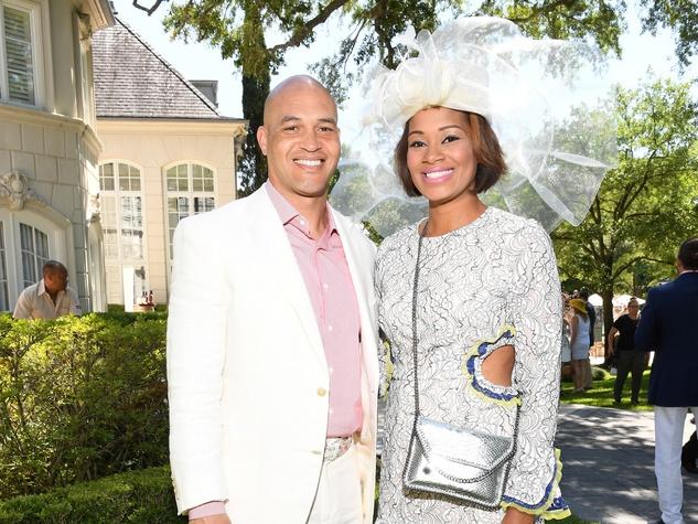 Houston, Hats, Hearts & Horseshoes benefiting Bo's Place 2017, May 2017, James Farrior, Iman Farrior