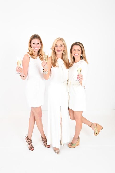 Fashion Gene, 4/26  Lauren Barrett, Jana Arnoldy, Lindley Arnoldy