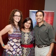 454 Laurette Canzares, from left, Jackie Limbaugh and Roberto Castillo at the Leo Bar relaunch party October 2013