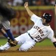 Astros opener Altuve sliding