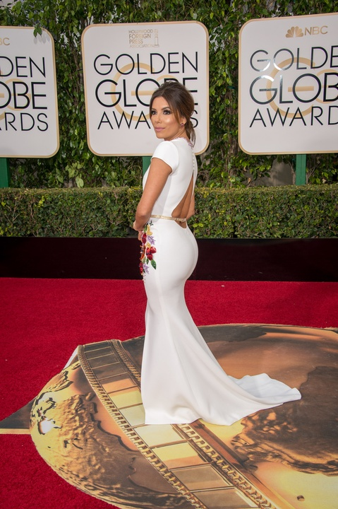 Eva Longoria at Golden Globe Awards