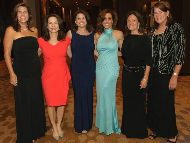uzanne Humann, Amy Darrow, Jan Rees-Jones, Toni Shepard, Sue Muller and Valerie Jones, 2014 Fur Ball