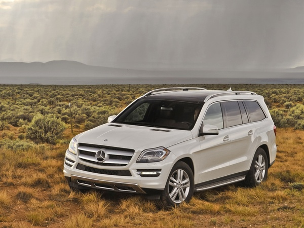 coty 2012 runner up Mercedes Benz GL350 BlueTEC