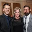 Ryan Kinder, from left, Jeannie Janke and Nick Garvin at Best Cellars September 2014