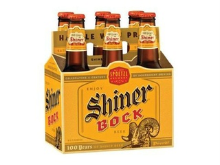 Shiner Bock 6-pack of beer