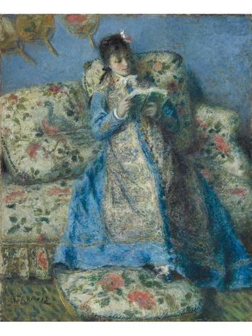 MFAH The Age of Impressionism December 2013 Renoir - Portrait of Madame Monet