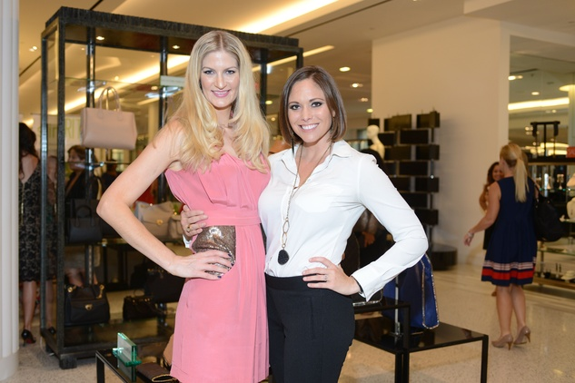 41 Shannon Smith, left, and Kile Churman Spelz at the WOW Summer Soiree August 2014