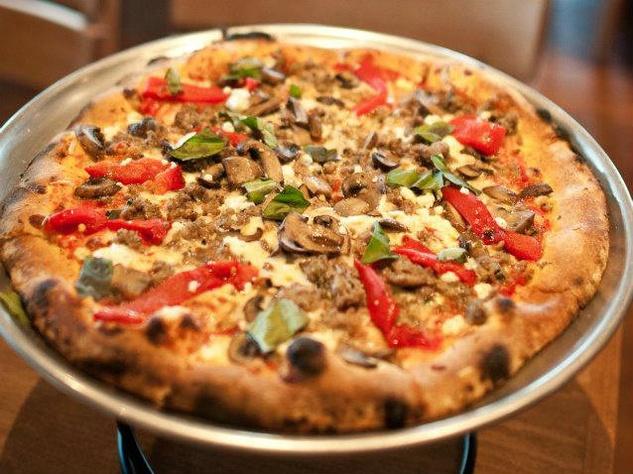 Pizza at Princi Italia restaurant in Dallas
