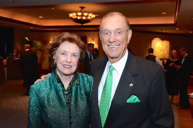 Dorothy and Ray LeBlanc at the Irish Gala November 2014