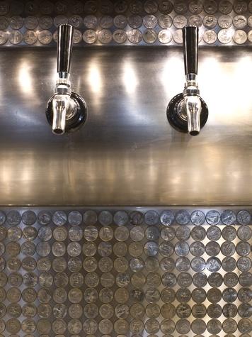 Meddlesome Moth beer tap