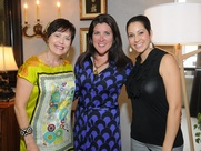 12 Houston Ronda Rice Carman event May 2013 Lynne T. Jones, Ronda Rice Carman, Amber Reddoch