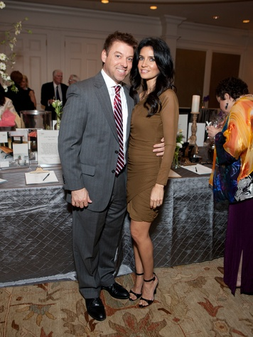 Hank and Maya Fasthoff at the SIRE Under the Stars event April 2014