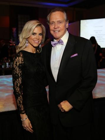 Faith and Lee Majors at the Winter Ball January 2014