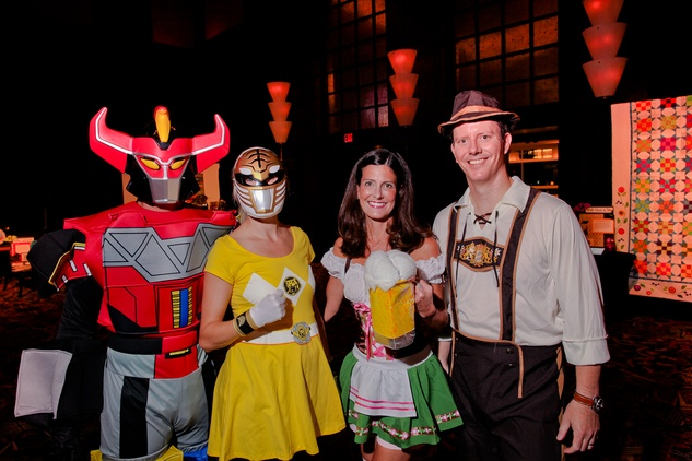 15 Chris and Noelle Donnelly, from left, and Jennifer and Rusty Stein at the Ronald McDonald House Houston Boo Ball October 2014