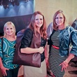 Mindy Sisson, Holly Schmaltz, and Allie Demers at JulieBeth trunk show at Americas