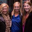 Brittany Blum, Lindsey Boston, Caroline Drinkwater, echelon ringing of the bells