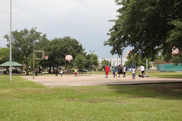 Emancipation Park, Basketball courts, June 2012