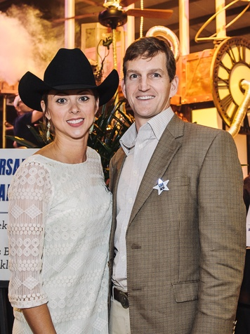 3 Houston Cattle Baron's Ball April 2013 Lauren Maloy and Ward Maloy