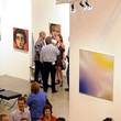 Houston Fine Art Fair, September 2012, crowd, venue