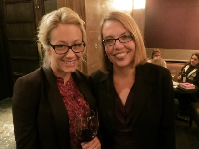 Katie Beirne, left, and Julie Landry at the Rescued Pets Movement launch party at Ibiza November 2013