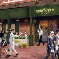 Sugar Refinery restaurant rendering