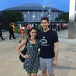 Astrodome public tour 50th anniversary party April 2015 Robert and Nicole Woods stood in line for hours for a chance to see the Astrodome. THIS