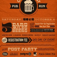 FFP Running Clubs & Block 7 Running Club: Oktoberfest Pub Crawl benefiting the Todd Krampitz Foundation