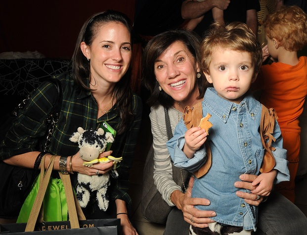 1 Andree Halpin, left, and Michele Arnot with Robbie Halpin at the M.D. Anderson Kids Halloween October 2014