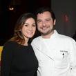 10 Sylia Gallegos and David Cordua at the Cordua cookbook event November 2013