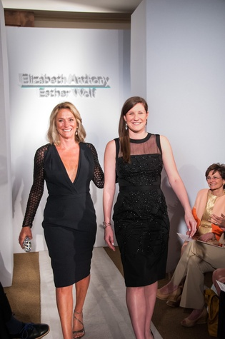 87 Becca Dunne, left, and Allie Pruett at Elizabeth Anthony's Generations of Glamour event May 2014
