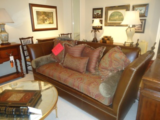 Houston Design Center, Sample Sale, Henredon Sofa, August 2012
