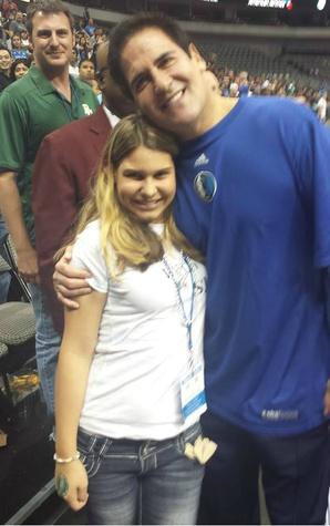 Shea and Mark Cuban