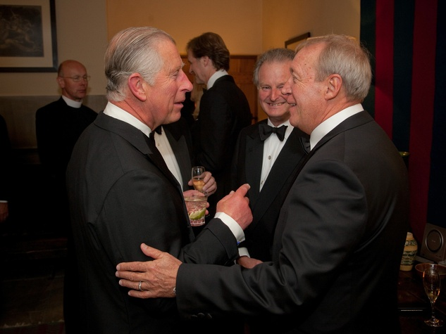 11 Houston Museum of Natural Science Prince Charles dinner July 2013 Prince Charles, George Lindahl, Bob Tabor