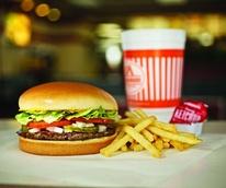 Whataburger hamburger burger french fries