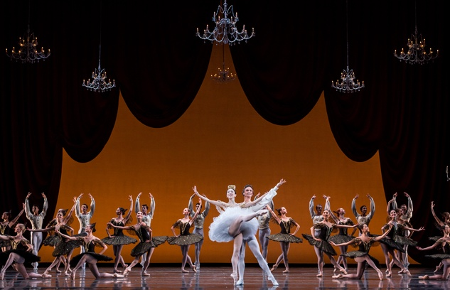 Houston Ballet From Houston to the World September 2014 Yuriko Kajiya, left, and Jared Matthews and Artists of Houston Ballet in Paquita