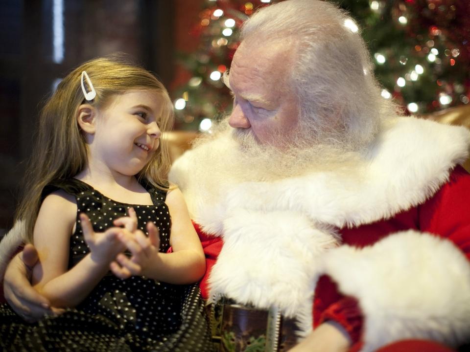 Santa at NorthPark
