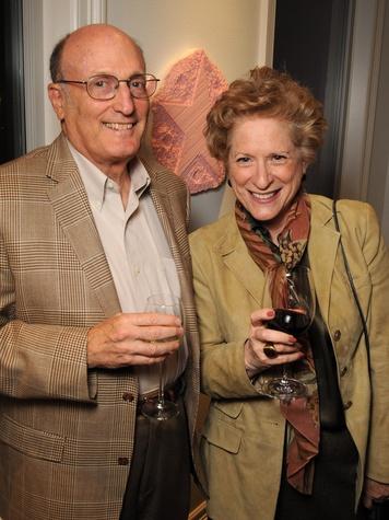 8 David and Carol Neuberger at the Art Circle launch October 2013