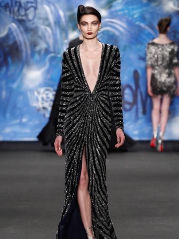 Clifford New York Fashion Week fall 2015 Naeem Khan March 2015 LOOK 29