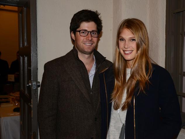 John-Luke and Rachel McConn at the Hermann Park Conservancy's Urban Green event November 2014