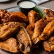 Pluckers Wing Bar fried chicken wings