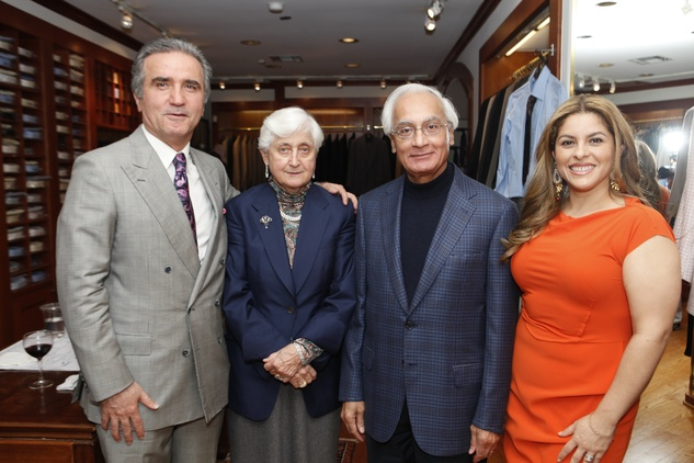 Ali Taghi, Dr. Mary-Louise and Dr. M.S.  Kalsi, Shabnam Patel, Leukemia & Lymphoma event, March 2014