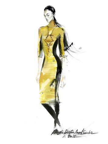 Clifford New York Fashion Week Fall 2015 February 2015 Angel Sanchez