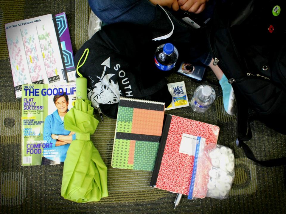 SXSW_festival preparedness_Janee Jackson_bag_2015