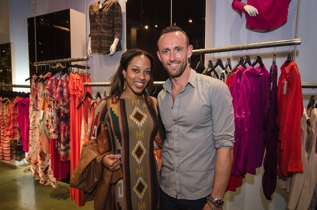 Austin Fashion Week kick off party at estilo 2013 Jenny Young and Mark Halsell