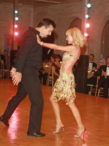 News_Dancing with Houston Stars_Damian Schwiethale_Diane Lokey Farb