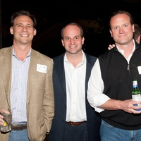 Cattle Baron's Gentlemen's Committee party, February 2013, Eric Houston, Curtis Bickers, Josh Oren