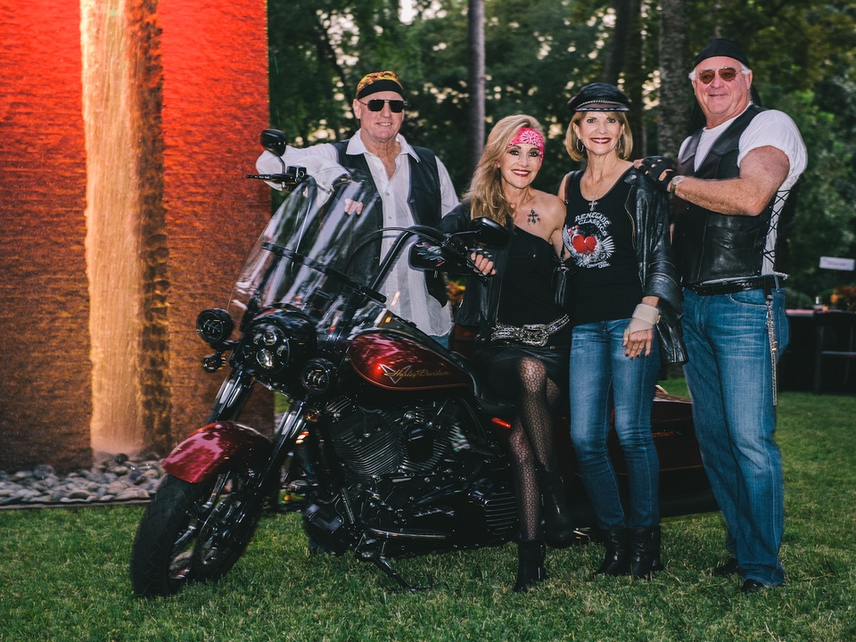 1 Scotty and Jana Arnoldy, from left, with Kim and Dan Tutcher at the Bayou Preservation Association's Born on the Bayou party October 2013
