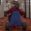 Room 237 child on big wheel The Shining