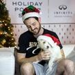 Houston, CultureMap Holiday Pop-Up Shop, November 2017, Patrick Mash, Oliver the dog