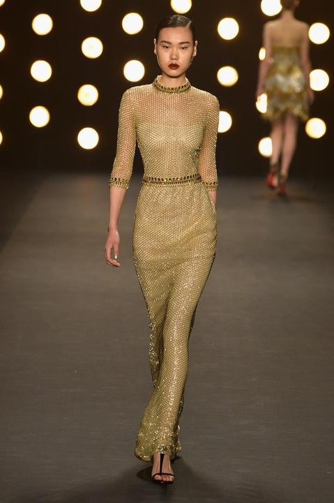 Naeem Khan fashion week fall collection February 2014